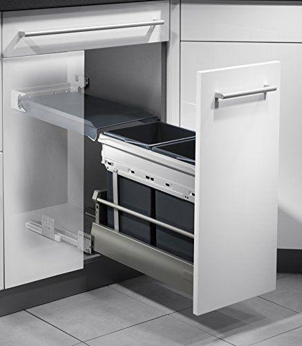 25+ parasta ideaa Pinterestissä Mülltrennsystem küche - abfallbehälter für die küche