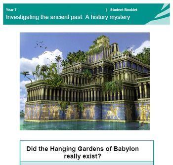 7 Weltwunder Hangende Garten Von Babylon Geschichtsratsel Mystery Of History Babylon History Gardens Of Babylon