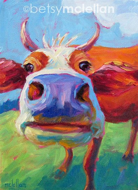 Cow Print, Cow Art, Animal Print, Animal Art, Cow Decor, Farm Animal Art