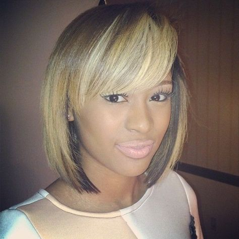 For black beauties, we are here for you with special and most attractive Black Women Bob Haircuts 2015 - 2016 pictures. If you want a new style; Love Hair, Great Hair, Gorgeous Hair, Lace Closure, Short Hair Cuts, Short Hair Styles, Bob Styles, Locks, Hair Laid