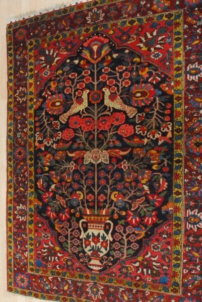 Bakhtiari Rug Identification