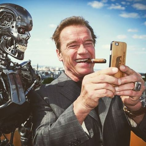 Pin By The Terminator On The Terminator Selfies Pinterest - Replacing guns in famous movie scenes with selfie sticks is way better than youd imagine