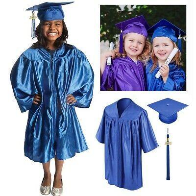 Graduationmall Matte Kindergarten Graduation Gown Cap Set With 2020 Tassel Ebay In 2020 Graduation Gown Graduation Cap And Gown Kindergarten Graduation