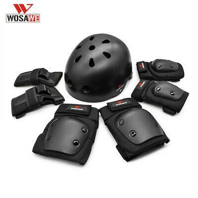 Kids Helmet Knee Elbow Pad Set Swegway Gear Skate Cycling Bike Safety!