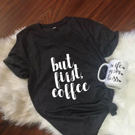 449b84623d But First Coffee Unisex T-Shirt, Coffee Unisex, S-2XL, Mom Life, Coffee  shirt, Christmas Gift, Mom Gift, Coffee lover, Funny Shirt by ShopatBash on  Etsy