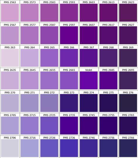 pms color chart ID Card - Coimbatore: Pantone Color Chart Purple Color Chart, Pms Color Chart, Pantone Color Chart, Purple Color Palettes, Pms Colour, Shades Of Purple Chart, Purple Paint Colors, Purple Color Names, Different Colors Of Purple