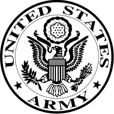 Military Logo used for the United states army and is a rather icon image as well as using images from Heraldry already such as the shield. Anime Military, Military Art, Navy Military, Vinyl Projects, Art Projects, Us Army Logo, Military Tattoos, Us Navy, Wood Burning Patterns