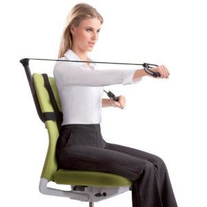 Stupendous Office Chair Workout Bands Chairworkout Chair Exercises Gmtry Best Dining Table And Chair Ideas Images Gmtryco