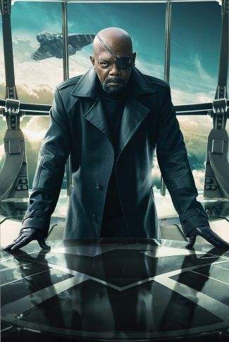 Download Captain America: The Winter Soldier Character Poster – Nick Fury Wallpaper | CellularNews