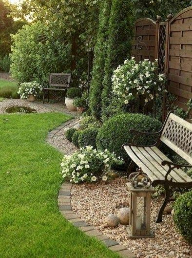 42 Rustic Front Yard Landscaping Ideas Rock Garden