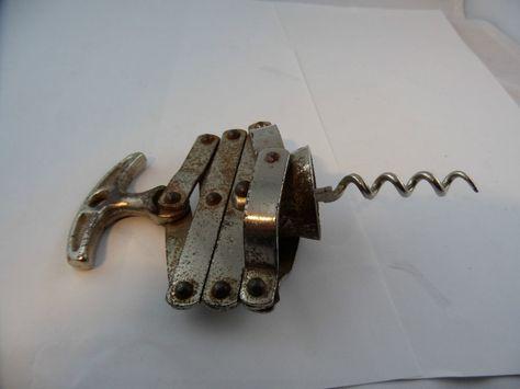 Antiker Korkenzieher Scherern kein Hersteller