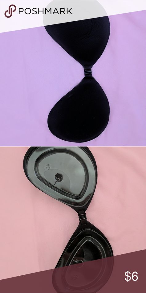 94176f6bc003e Stick on Bra Cups Plain black stick on bra. Never worn