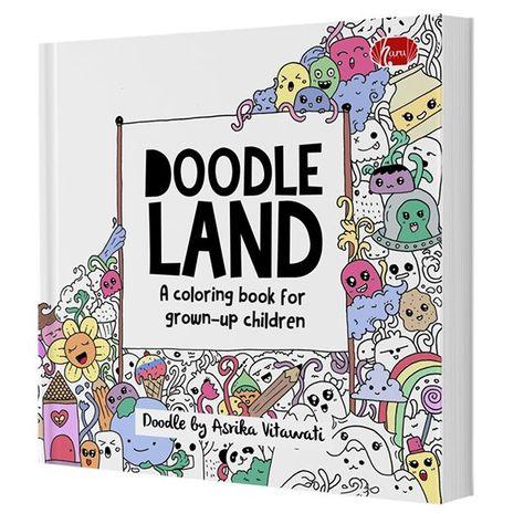 Doodle Land Asrika Vitawati Rp 59500 Doodle Land Adalah Buku