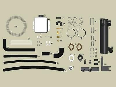 4 3l 5 0l 5 7l Closed Freshwater Cooling Kit For Volvo Penta Years 1999 Older In 2020 Volvo Boat Parts Fresh Water