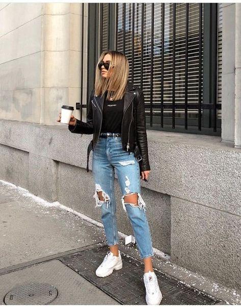 ▷ 50 + Outfits Denim Mujer para todas las temporadas【Moda 2019】