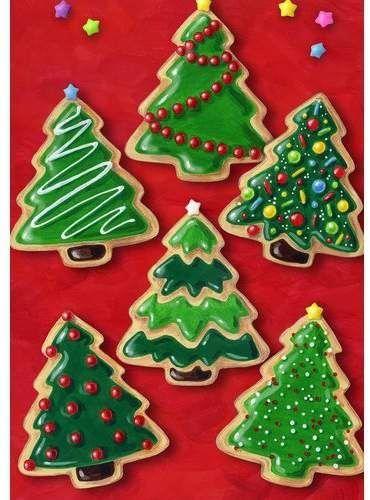 Christmas Cookies Garden Flag Christmas Cookies Decorated Christmas Sugar Cookies Xmas Cookies