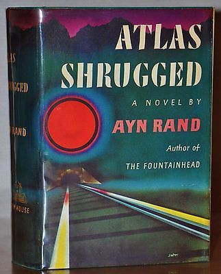 Details About Atlas Shrugged 1957 Ayn Rand Signed Sharp
