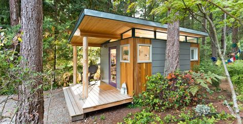 12x16 Artists Studio In The Woods Modern Shed Building A Shed Prefab Sheds