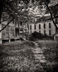 The old Traverse City State Mental Hospital, also known as the Northern Michigan Asylum. (photography by James Howe) Traverse City