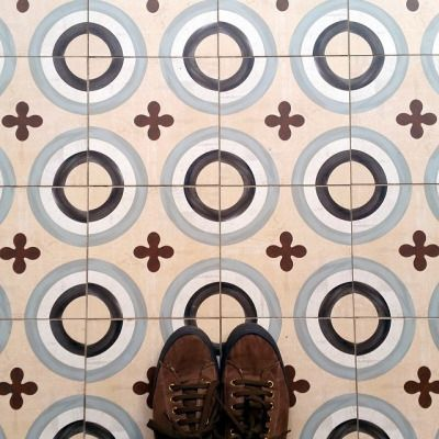 There's room for circle patterned #tiles at @praktikhotels Vinoteca! Wish you all a good weekend!  #TileAddiction http://ift.tt/1yYwcZd