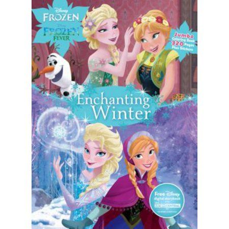 Anderson Frozen Enchanting Wntr Walmart Com Coloring Books Disney Frozen Disney