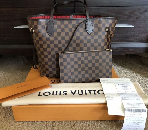 1ed7f823f284 2018 Louis Vuitton Damier Ebene Neverfull MM Tote Bag  fashion  clothing   shoes  accessories  womensbagshandbags (ebay link)