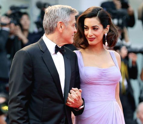 """""""There wasn't like a 'Hey, maybe we should get married.' Literally, I dropped it on her,"""" says #GeorgeClooney on the moment he proposed to…"""