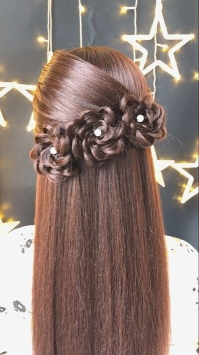 Braided Hairstyle For Long Hair Videos Simple Tutorial Bridal Hair Inspiration In 2020 Long Hair Tutorial Braids For Long Hair Long Hair Styles