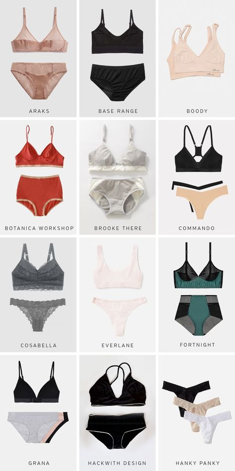 Style Bee - Responsibly Made Underwear Directory - 30+ Ethical Lingerie Brands