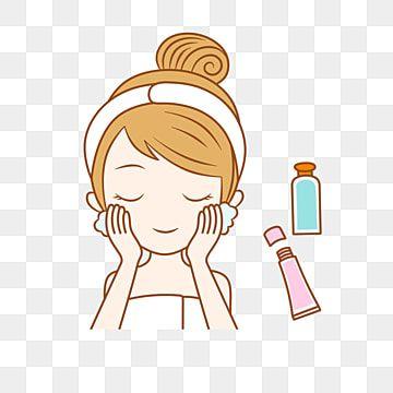 Ruchnaya Rospis Illyustraciya Krasota Uhod Za Kozhej Milaya Devushka Myt Lico Png Devushka Klipart Ruchnoj Rospisyu Illyustraciya Png I Psd Fajl Png Dlya Besplatnoj Za Skin Care Spa Beauty Skin Care Face