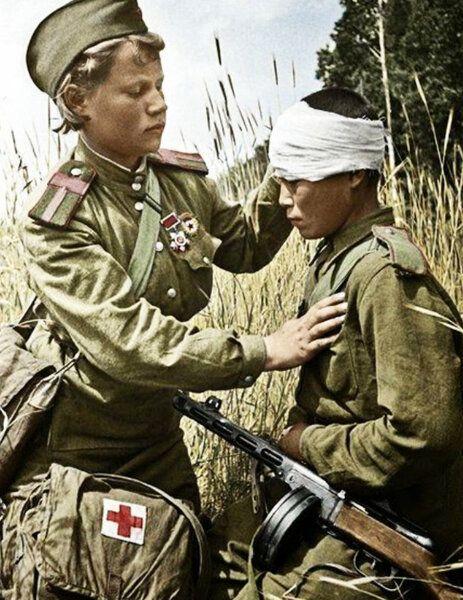 Podborka Cvetnyh Fotografij Velikoj Otechestvennoj Vojny S