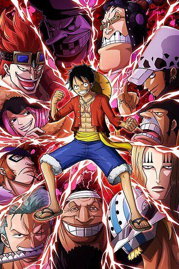 Luffy Supernova One Piece Poster Personagens De Anime Desenho De Anime Anime Luta