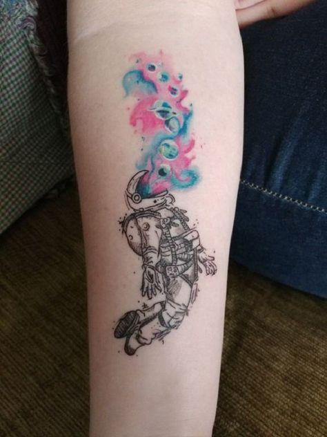 - 30  Astronaut Tattoo ideas  <3 <3
