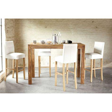Table de salle à manger en bois de sheesham massif L 150 cm stockholm MAISON DU MONDE 399,99€ TTC