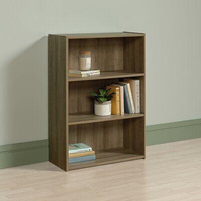 Highland Oak Brown Sauder Beginnings 3 Shelf Bookcase