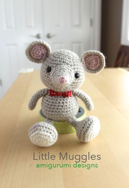 Sweet mouse free crochet pattern | Crochet mouse, Crochet patterns ... | 640x439