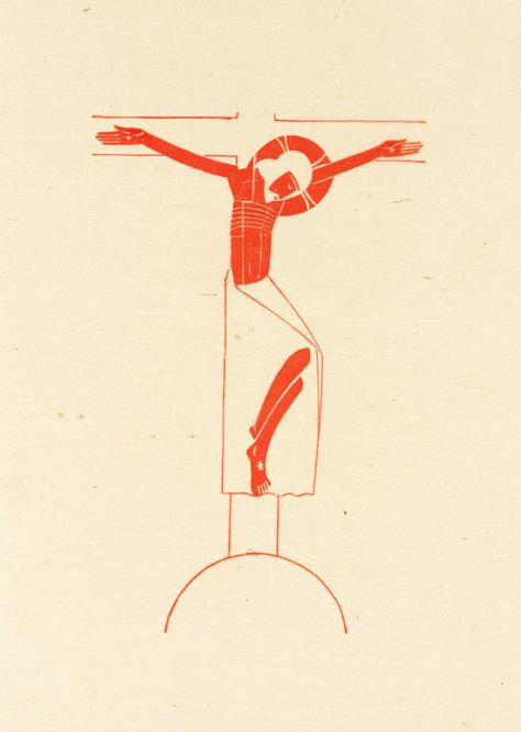 'Crucifix', Eric Gill, 1917 | Tate