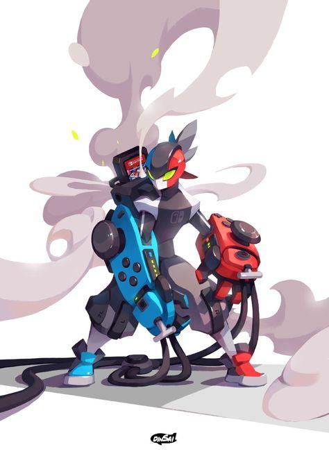 Game art 590956782341600295 - ArtStation – Nintendo Switch Hero, chanin suasungnern Source by Paarzy Character Design Inspiration, Fantasy Characters, Nintendo Art, Character Design, Character Art, Creature Art, Robot Art, Cartoon Art, Cool Drawings