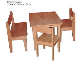 Kindersitzgruppe Buche Massiv 4 Tlg Geolt Von Caritas Werkstatten 1 Kindertisch 1 Kinderbank 2 Kinderstuh Kindertisch Kindersitzgruppe Kinderbank