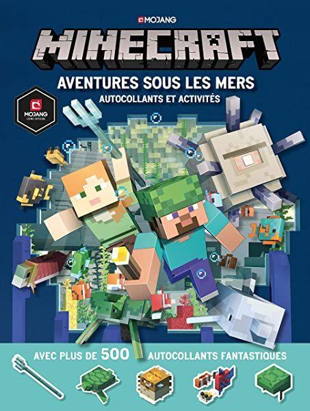 Amazon Fr Minecraft Le Guide Oceans Livre Officiel Mojang De 9 A 14 Ans Milton Stephanie Marsh Ryan Fil Alex En 2020 Minecraft Autocollant Album Jeunesse