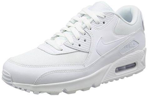 Nike Air Max 90 Essential, Herren Sneakers, Weiß | Amazon