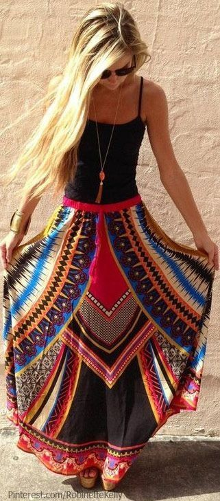 Love this print. Would love to make this and wear with a white shirt!