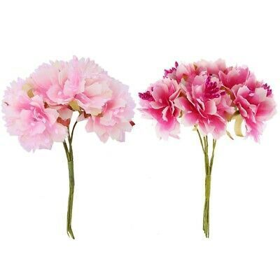 Ebay Link 12 Pcs 4cm Artificial Carnation Flowers Stamen Silk Flower Bouquet For Wedd E6j1 Home Garden Flower Stamen Carnation Flower Artificial Flowers