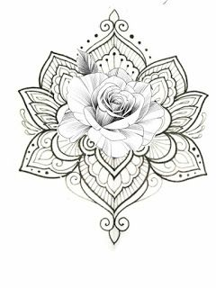 White Background Tattoo For Man And Woman Tattoos Tattoos For Guys Pattern Tattoo
