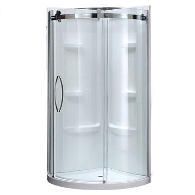 Ove Shower Stalls Enclosure Caicos Gp 40 In W X 78 75 In H