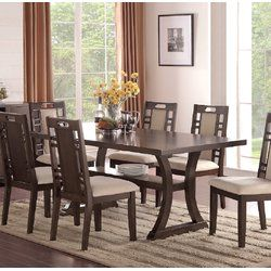 Nila Dining Table Transitional Dining Tables Dining Room Sets