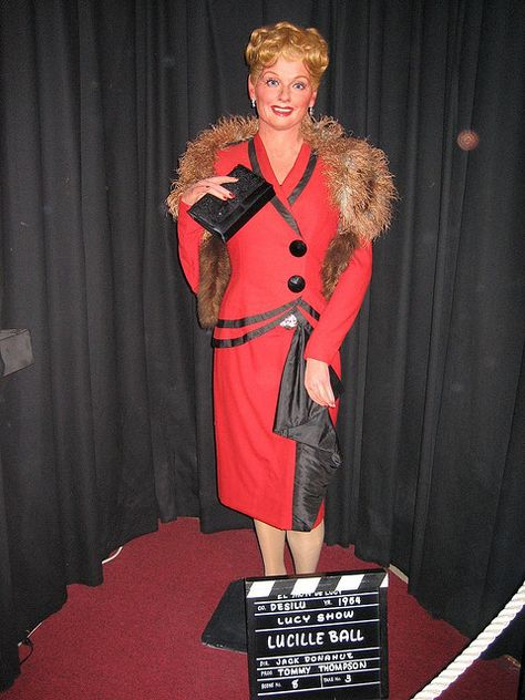 Lucille Ball - Movieland Wax Museum