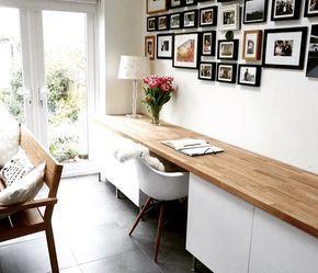 37 Mentions J Aime 2 Commentaires Fil Bayt Filbaytdecoration Sur Instagram Idee Pour Creer Un Coin Bureau Avec Plein Ikea Home Office Ikea Home Home