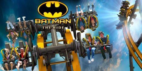 Negrorama: Batman: The Ride – La montaña rusa de Batman que estabas esperando!