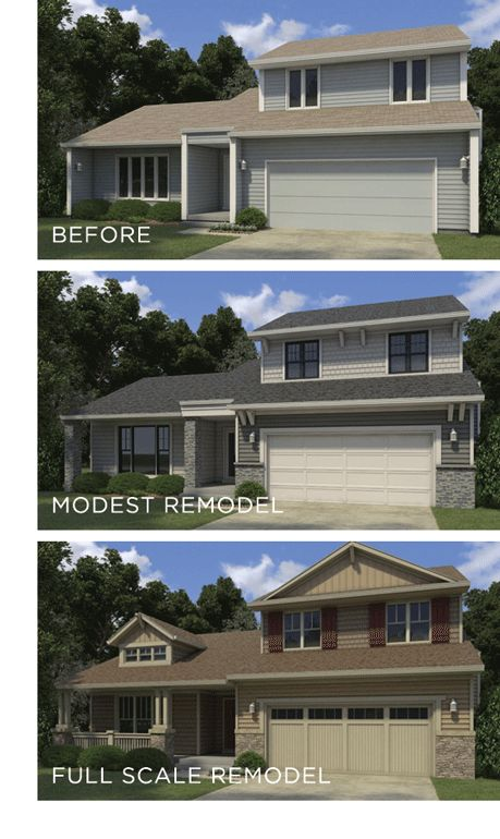 Home Exterior Renovation Before And After top modern bungalow design | exterior cladding, exterior and originals